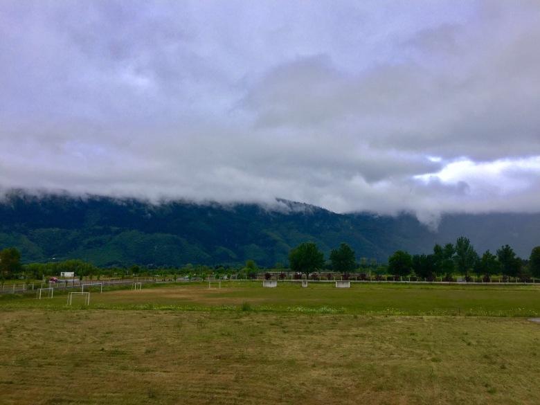 2 - Üniversite Bahçesinden İgman Dağları_na Bakış