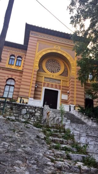Saraybosna İlahiyat Fakültesi - Dış Kapı