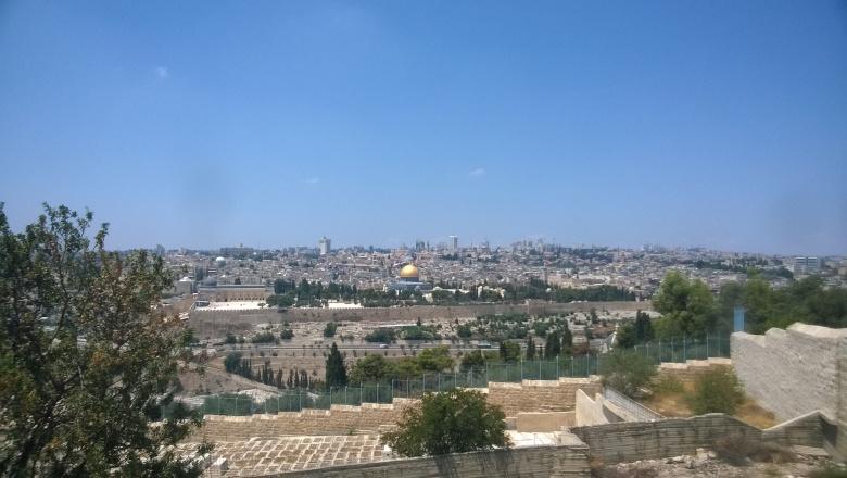 Zeytin Dağından Mescid-i Aksa