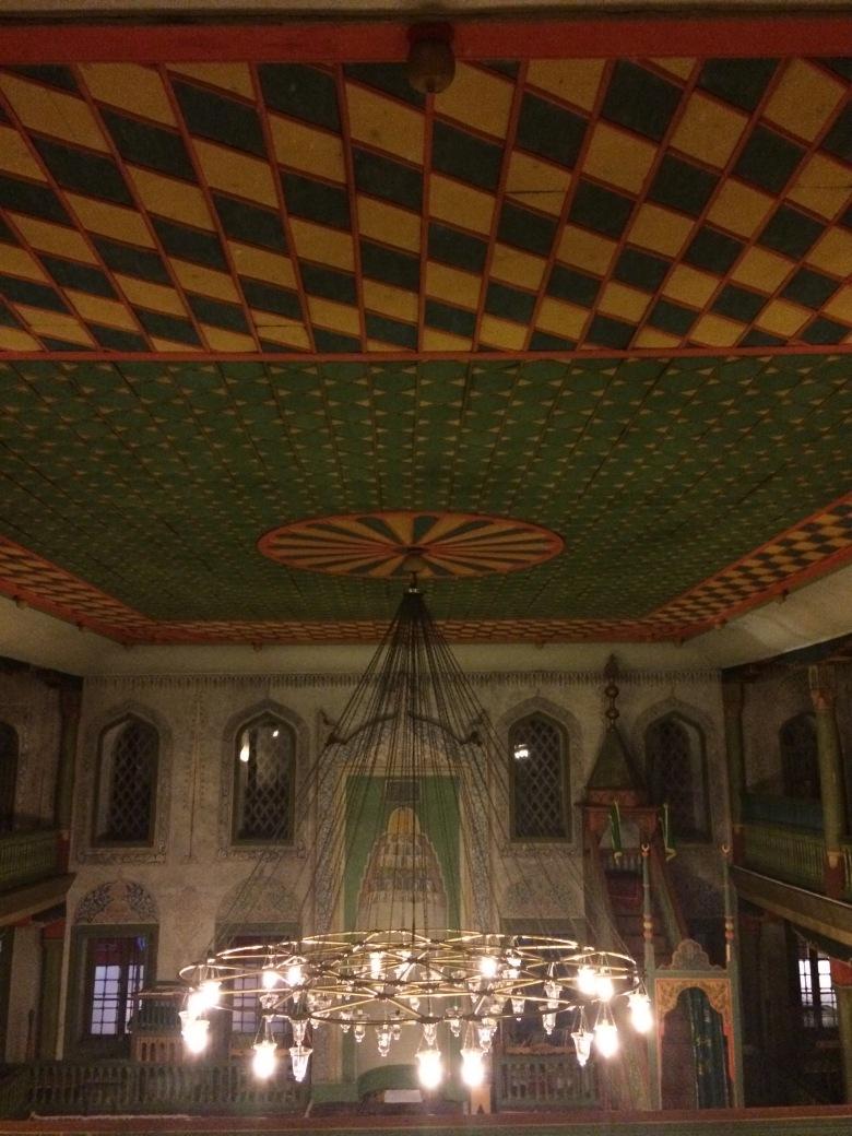 18 - Alaca Cami Tavanı