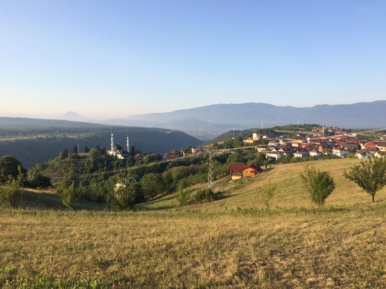 21 - Brekovica Camisi_ne Yanlışlıkla Çıktığımız Tepeden Görüntüsü